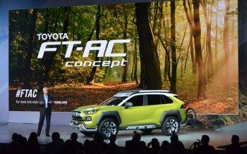 """Toyota FT-AC Concept: Chiếc SUV cho những tay """"leo núi"""""""