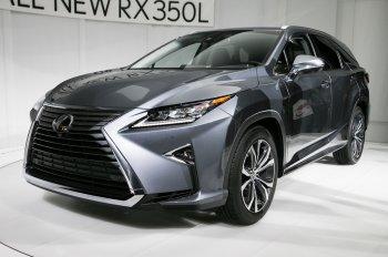 Cận cảnh phiên bản 7 chỗ của chiếc Lexus RX