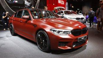"""""""Siêu xe"""" BMW M5 2018 bán ra từ 102.600 USD"""