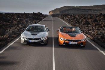 BMW trình làng hai mẫu i8 mới tại triển lãm xe hơi L.A