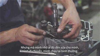 Cùng Kixx cổ vũ cho đam mê của người thợ sửa xe