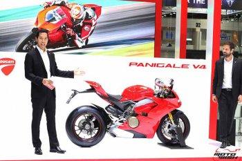 Ducati Panigale V4 lên kệ tại Thái Lan với giá từ 660 triệu đồng