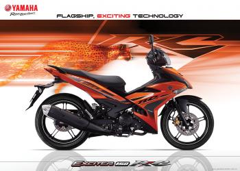 Yamaha Exciter 150 thay tem mới, giá không đổi