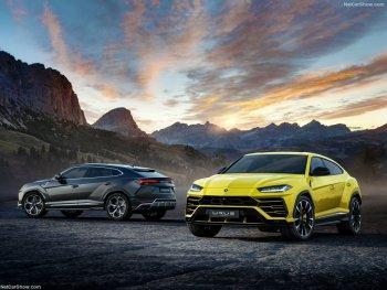 """Ảnh thực tế """"siêu SUV"""" đầu tiên của Lamborghini"""