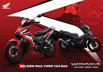 Honda Winner thêm màu Đen Mờ, chạy đua với Yamaha Exciter