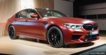 Cận cảnh phiên bản đặc biệt BMW M5 First Edition 2018