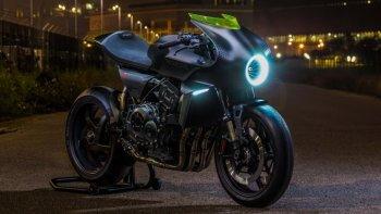 Concept Honda CB4 Interceptor khoe công nghệ năng lượng gió
