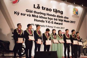 Giải thưởng Honda Y-E-S Award 2017 tìm ra 10 bạn sinh viên xuất sắc nhất