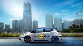 Nissan thử nghiệm robot taxi vào đầu năm 2018