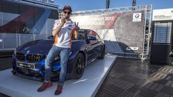 Lần thứ 5 liên tiếp, Marc Marquez xuất sắc đăng quang BMW M Adward 2017
