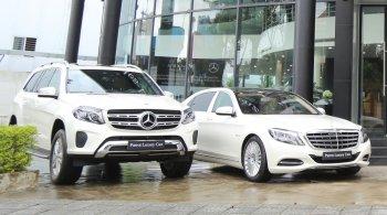 Mercedes-Benz bàn giao đội xe sang tại Đà Nẵng