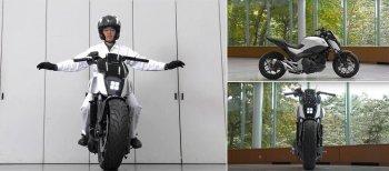 """""""Riding Assist-e""""- công nghệ tự cân bằng trong tương lai của Honda"""