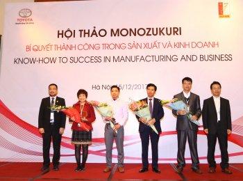Hội thảo Monozukuri 2017 – doanh nghiệp chia sẻ bí quyết thành công