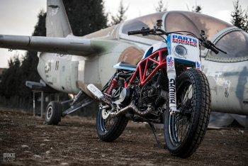 Ducati 750SS độ flat tracker: Gã cũ kỹ lên đời