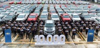 Colorado Centennial Limited - chiếc xe thứ 10.000 Chevrolet bán ra trong năm 2017