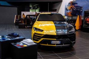 Lamborghini Urus cho khách tự chọn những trang bị nào