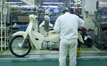 Honda Super Cub đời mới được sản xuất như thế nào