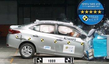 Toyota Vios 2018 đạt chuẩn an toàn 5 sao