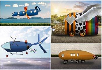 Thiết kế ôtô tương lai trong tưởng tượng của trẻ thơ
