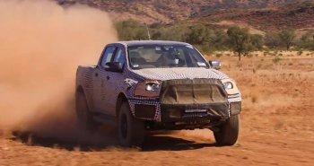 Ford Ranger Raptor sẽ có khoang lưới tản nhiệt khủng