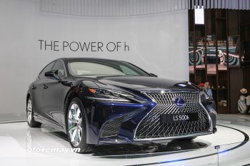 Lexus LS500h 2018 chốt giá từ 7,44 tỷ đồng
