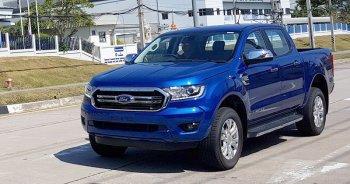 Lộ ảnh Ford Ranger bản nâng cấp mới