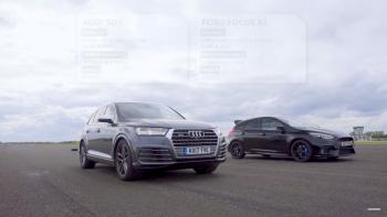Xem Audi SQ7 đọ sức cùng Ford Focus RS