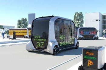 Toyota e-Palette: Không gian bán lẻ di động