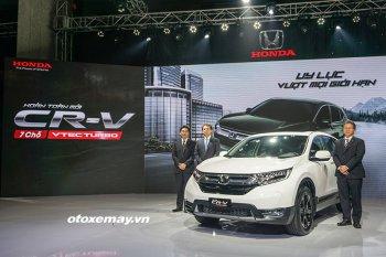 Honda CR-V 2018 đội giá 1,256 tỷ đồng vì Chính Phủ chậm ra thông tư