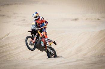 Dakar 2018: Sunderland giành lại quyền kiểm soát ở chặng 3