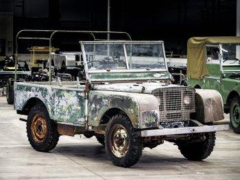 """Chiếc Land Rover đầu tiên """"tái xuất giang hồ"""""""