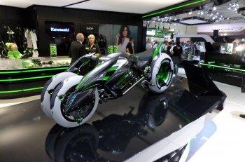 Kawasaki nhá hàng concept cũ trong video mới