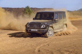"""Mercedes-Benz G-Class 2019: """"Diện mạo"""" vintage, """"nội tâm"""" hiện đại"""