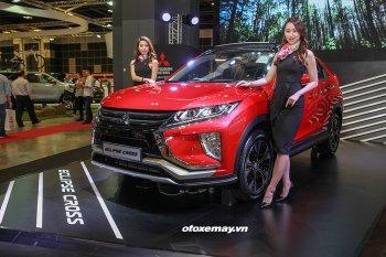Cận cảnh Mitsubishi Eclipse Cross lần đầu tiên có mặt tại Đông Nam Á