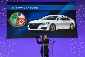 Honda Accord giành giải Xe của năm 2018