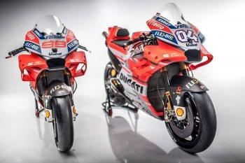 """Ducati Desmosedici GP """"hung hãn"""" hơn với màu áo 2018"""