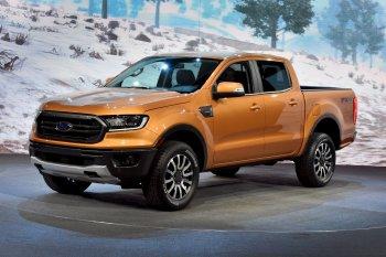 Ảnh thực tế Ford Ranger 2019 trình làng tại Mỹ