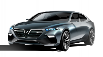 Xe ô tô Vinfast ra mắt thị trường Việt vào tháng 12/2018