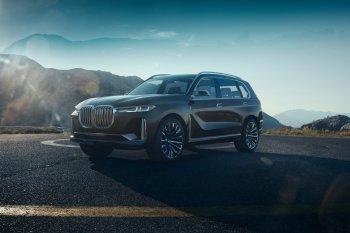 """BMW X7 Concept """"gặp nạn"""" trên đường đến Triển lãm Ôtô Detroit"""