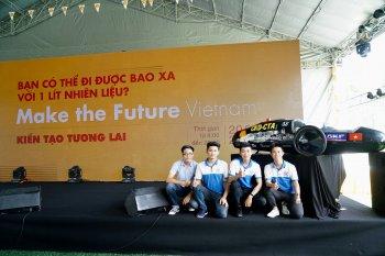 Shell hỗ trợ sinh viên Việt Nam chế tạo xe tiết kiệm nhiên liệu