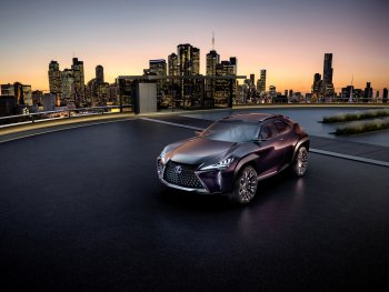 Lexus UX hứa hẹn xuất hiện vào tháng 3/2018