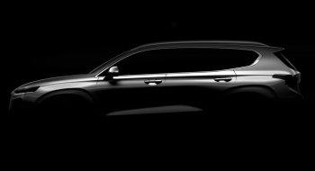 Hyundai Santa Fe hoàn toàn mới sắp xuất hiện