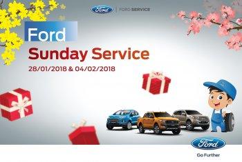 Ford Việt Nam phục vụ cả chủ nhật đón Tết nguyên đán