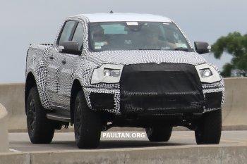 Ford mang Ranger Raptor 2018 thử nghiệm tại Thái Lan và Úc