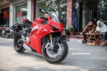 """""""Siêu phẩm"""" Ducati Panigale V4 S đã về với chủ nhân tại Hà Nội"""