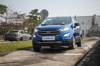 Ford EcoSport 2018; thiết kế mới, lần đầu tiên sử dụng động cơ EcoBoost