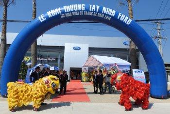 Tây Ninh Ford - đại lý chính thức thứ 36 của Ford Việt Nam đi vào hoạt động