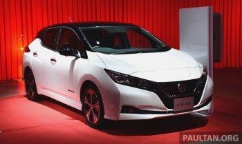 """Nissan Leaf thế hệ thứ 2 """"tấn công"""" thị trường Châu Á và Châu Đại Dương"""