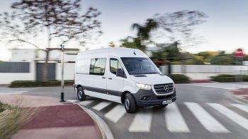 Mercedes-Benz Sprinter 2019 ra mắt với khả năng tuỳ biến linh hoạt