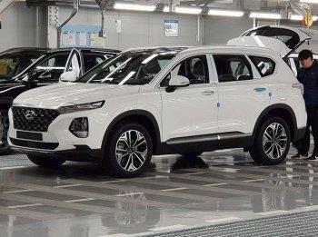 Lộ ảnh thực tế Hyundai SantaFe hoàn toàn mới